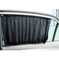 car curtains - 2 Aluminum Rail Car Curtains Upgraded UV Protection Side Window Curtains