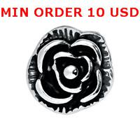 Charms for locket mixed SILVER VINTAGE ROSE Glass Floating charms for memory living locket wholesale