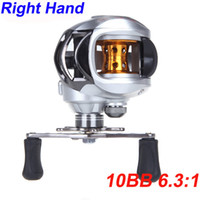 casting - 10BB Right Hand Bait Casting Fishing Reel Ball Bearings One way Clutch High Speed H10236