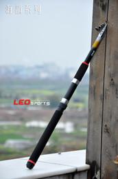 Wholesale 2 M FT Telescopic Sea Fishing Rod Portable Travel Glass Fiber Spinning Fishing Pole H10606