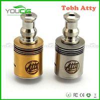 Cheap RDA atomizer Tobh atty rda atomizer Clone Tobh atty V2 for electronic cigarette tobh atty atomizer Silver Gold Black Brand new