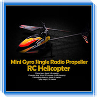 Electric 4 Channel 25x5x9cm Wltoys V911 Remote Control Helicopter 2.4G 4CH Single Blade Gyro RC Mini Outdoor V911 Helicopter Toys