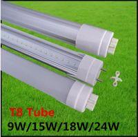 Wholesale T8 LED Tube Light Fluorescent Replacement ft ft ft ft cm cm cm cm High Power W W W W Energy Saving Led Lights V