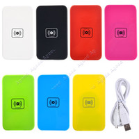 Wholesale 2014 new QI Wireless Charger Charging Pad for Samsung Galaxy S3 S4 Note3 Note2 SV000833