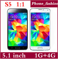 Wholesale Perfect S5 i9600 Smart phone MTK6572 Dual Core Android QHD inch IPS G RAM G ROM GHz G GPS Unlocked phone