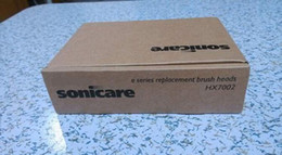 Wholesale Sonicare HX7002 E Series Toothbrush Replacement Brush Head box with Brown box Replacement Brush Heads by DHL packs