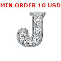 Charms initial charms - INITIAL J Floating charms