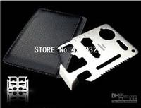 Multi Knife Plastic Rubber 100pcs new arrival knife Free shipping CardSharp Credit Card Safety Sharp Knife Plain Edge Pocket Knife in Retail card box