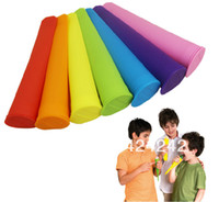 Stocked Ceramic Ice Cream Tools 2013 Silicone Push Up Ice Cream Jelly Lolly Pop Maker Popsicle Mould Mold#44201