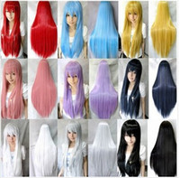 Wholesale Anime cosplay wig color color more cm cm role playing manufacturer stage