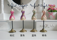 hand painted jewelry box - Mannequin Hand Painting quot Tall Doll Rack color choose Necklace Earring organizer Holder Vintage Jewelry Display Stand