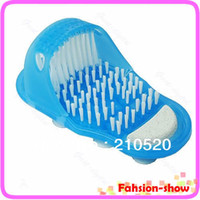 Wholesale New Arrive Easyfeet Easy Feet Foot Scrubber Brush Massager Clean Bathroom