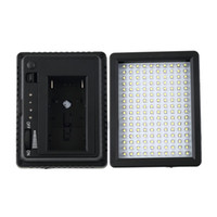 Wholesale 4 New WanSen W160 LED Video Camera Light Lamp DV For CANON for NIKON JVC V W DropShipping