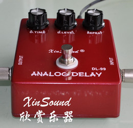Wholesale Analog Delay Guitar Effects Pedal True analog delay with BBD ICs by XinSound Electronics classic analog Bucket Brigade Delay
