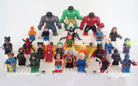 Plastics   legos Lot of 27 MiniFigures lot 3 color The Hulk friends Super hero Clown Captain Green arrow Venom Catwoman Spider-Man Batman new no box