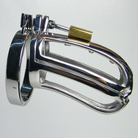 Male Chastity Cage YUNPING Male Chastity Device Stainless steel Massage Cock Cage Metal Cock Rings European Common Size