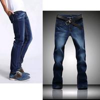 Wholesale Plus size Mens true jeans Casual Washed dark Vintage blue Jeans Men Brand Denim Overall Skinny Jeans big size