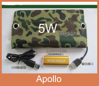 Wholesale 5 V W Solar Charger Foldable Solar Panel Charger Bag Foldable Solar Panel Universal Charger Laptop Computer Solar Charger Mobile Solar Cha