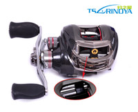 Wholesale New Trulinoya BB Black Color Right Hand Baitcasting Reel Carp Fishing Tackle Fishing Coil Sea Fishing