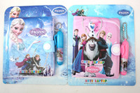 Wholesale Hot New Lovely Frozen Notebook stationery x cm perfect for Birthday Gift