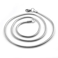 Cheap Strands, Strings Stainless steel necklace Best Popular Men's Titanium steel necklace