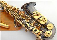 Wholesale Salma selmer alto saxophone e musical instrument black ni au double key