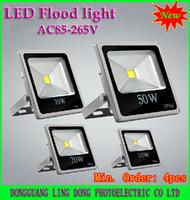 10W 20W 30W 50W 70W 100W LED IP65 New types Flat panel LED Flood Light 10W 20W 30W 50W 70W 100W RGB Warm White White Outdoor Floodlights Waterproof 85-265V ( Min. :4pcs)