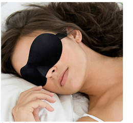 Wholesale hot selling Sponge D Sleeping Eye Mask Shade Nap Cover Blindfold Sleeping Eyeshade Rest
