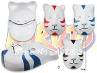 Wholesale Naruto Cosplay Mask Masquerade Halloween Carnival Party Masks colors