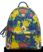 Wholesale 2014 new MCM lovers flower Computer Backpack
