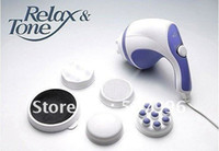 Massage & Relaxation Shanghai China (Mainland) AS Free Shipping Brand New Relax &Tone Body Massager Fat Remove Slim Machine Set Guaranteed 100%
