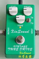 Wholesale Vintage Tube Screamer Overdrive Handmade effects TS808 and TS9 combo Overdrive by XinSound and NEW True Typass