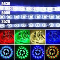 Wholesale 100M Warm LED Strip Light SMD RGB White Blue Green Red Waterproof non Waterproof LEDs LM Flexible mix Color