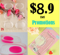 Wholesale Promotions set Heel Support Pad Cup Spur Gel Silicone Shock Cushion Orthotics Shoe Insoles For Men and Women
