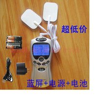 acupuncture treatment - Electrodes massager patch digital meridian therapy treatment instrument Electronic neck lumbar massage acupuncture machine
