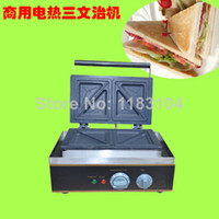 Wholesale 4 Slice Commercial Use Non Stick v v Electric Sandwich Maker Machine Baker Toaster Press Grill