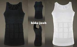 Wholesale Men Firm Tummy Belly Buster Control Slimming Body Shaper Vest Underwear Shirt