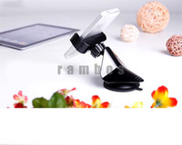 Wholesale Adjustable Windshield Mobile Phone Car Holder Sucker Stand with Rotating for iPhone for Samsung for HTC for Sony