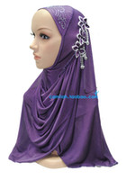 Wholesale Ms Muslim hijab headscarf characteristic fashion muslim hijab headscarf