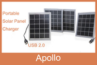 Wholesale 5V W Portable Solar Panels Universal Charger Mobile Mini Solar Power Mobile Phone Camera Outdoor Solar Charger With USB Port