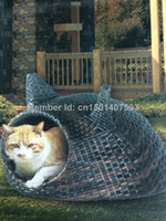 Wholesale PE Rattan Cat house Outside Patio Furniture M1069