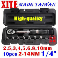 Wholesale Taiwan XITE quot DR Nm piece torque wrench Bicycle wrench bycicle bike tools kit set tool bike repair spanner original