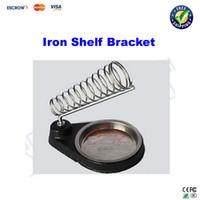 new iron shelf bracket - Free ship Iron base electric iron shelf bracket Solder Iron Stand