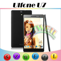 WCDMA android smartphone - Ulefone U7 Phablet Android Smartphone G RAM G ROM With Inch LTPS Screen GPS Dual Sim WCDMA MHZ OTG Play Store Filp Case