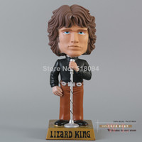 Wholesale FUNKO Wacky Wobbler Doors Jim Morrison Bobble Head PVC Action Figure Toy FKFG035