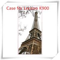 Cheap For Lenovo K900 Case for Lenovo K900 Best Plastic White K900 case cover