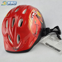 Wholesale 2014 popular hot sales bike bicycle kids protection children helmet cute red color