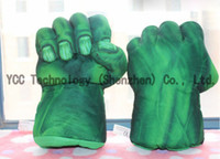 Multicolor kids boxing gloves - 1Pair The Avengers Alliance Hulks gloves Box Gloves Masquerade Party Individual Kids Gifts