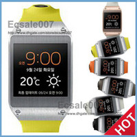 Wholesale 2014 NEW Galaxy Gear Smart Watch Watch MTK6572 Ghz Dual Core Android MB RAM GB ROM WiFi Watch for Samsung S5 Note i9500