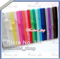fold over elastic - elastic Baby Elastic headbands for baby girls FOE fold over Shimmer Satin hair accessory xth071